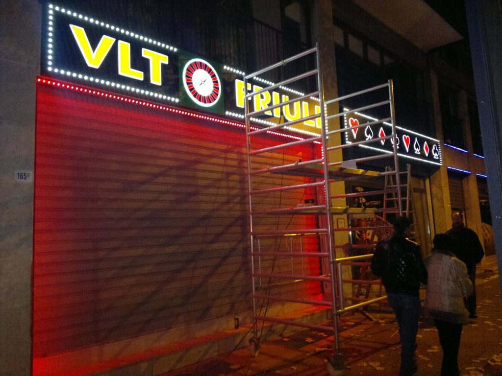 Casino Italija VLT friuli - po montażi