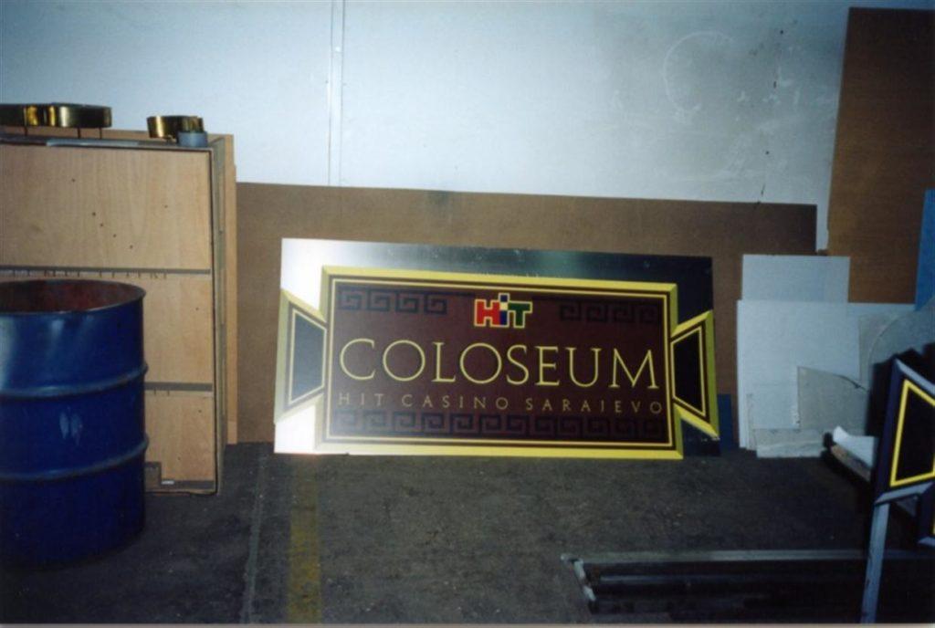 Kasetne označbe Coloseum Sarajevo