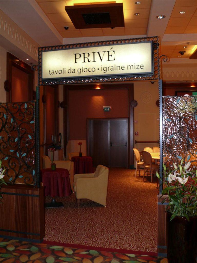Retro označba Casino Park