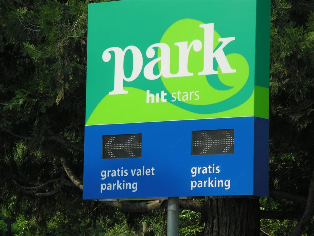 Semafor za parking